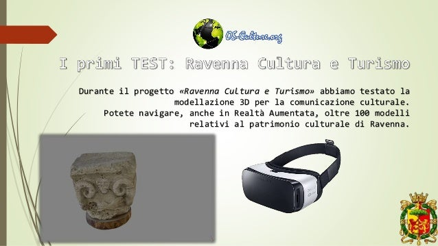 Durante il progetto «Ravenna Cultura e Turismo» abbiamo testato la modellazione 3D per la comunicazione culturale. Potete ...