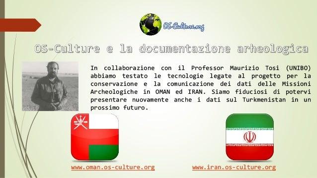 In collaborazione con il Professor Maurizio Tosi (UNIBO) abbiamo testato le tecnologie legate al progetto per la conservaz...