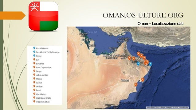 OMAN.OS-ULTURE.ORG Oman – Localizzazione dati