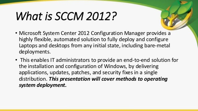 Deploy Microsoft Updates Using Sccm 2012