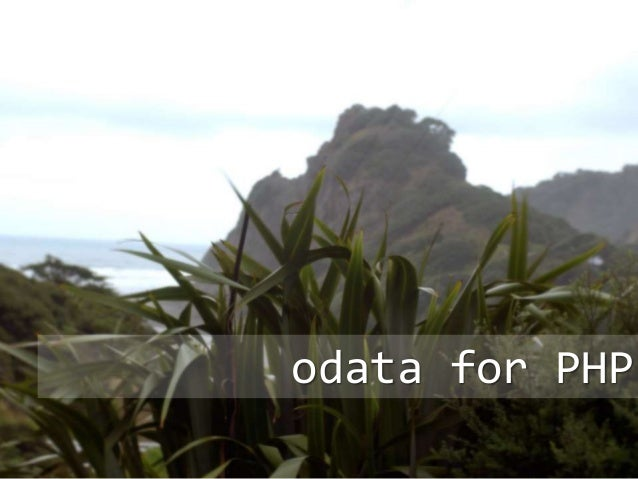 odata for PHP