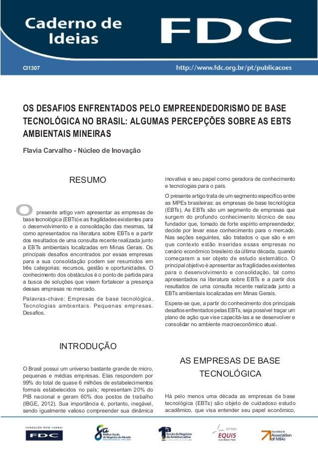 Gestão Estratégica do Suprimento e o Impacto no Desempenho das Empresas Brasileiras Os desafios enfrentados pelo Empreende...