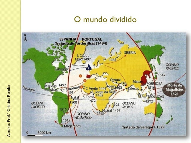 Autoria: Prof.ª Cristina Romba  O mundo dividido
