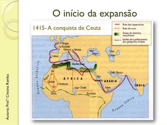 O início da expansão  Autoria: Prof.ª Cristina Romba  1415- A conquista de Ceuta