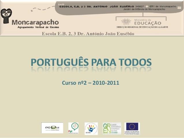 Curso nº2 – 2010-2011