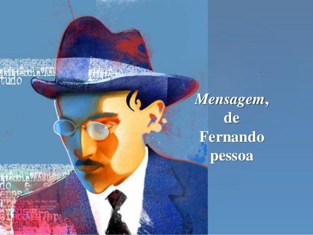 Mensagem, de Fernando pessoa