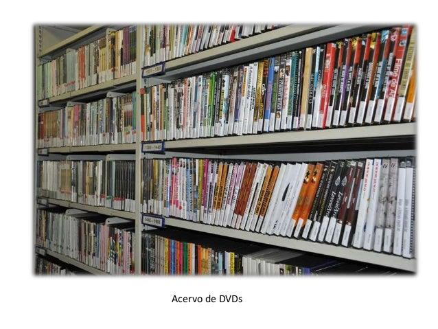 Acervo de DVDs