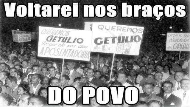 GOVERNO DEMOCRÁTICO (1951-1954)