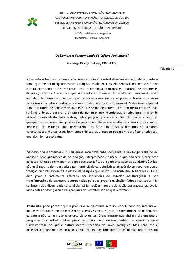 INSTITUTO DO EMPREGO E FORMAÇÃO PROFISSIONAL, IP CENTRO DE EMPREGO E FORMAÇÃO PROFISSIONAL DA GUARDA SERVIÇO DE EMPREGO E ...