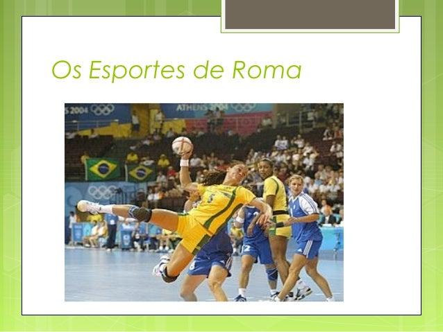 Os Esportes de Roma
