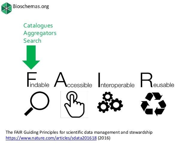 OSFair2017 Workshop   Bioschemas Slide 2