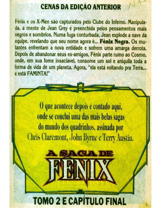Os fabulosos x men a saga da fenix negra parte 6