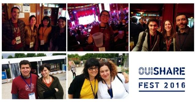 Hispanos en OuiShare Fest Paris 2016
