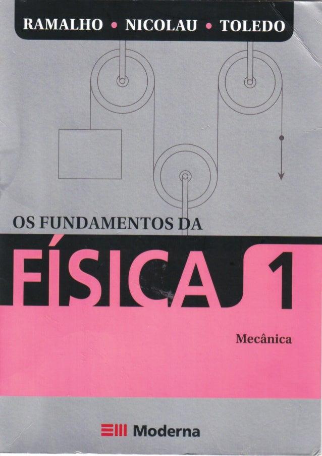 Os fundamentos da fisica   vol. 1 - 9ª ed.- ramalho- mecanica