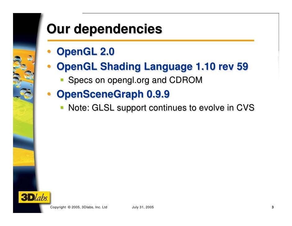 GLSL Shading with OpenSceneGra...