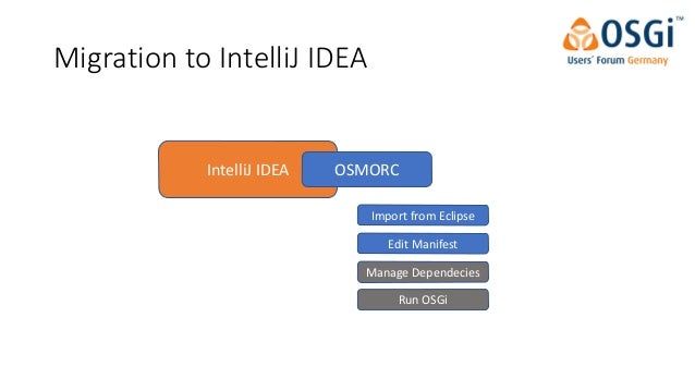Develop and Build OSGi Bundles Without Pain Using IntelliJ and Gradle