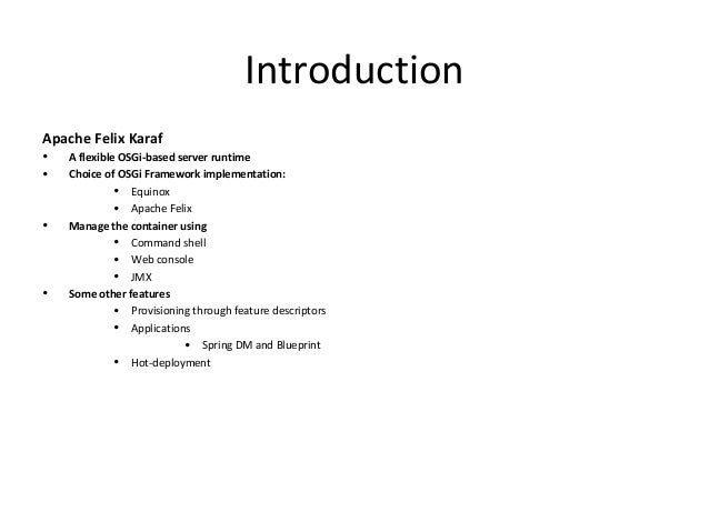 Osgi blueprint web console 18 malvernweather Image collections