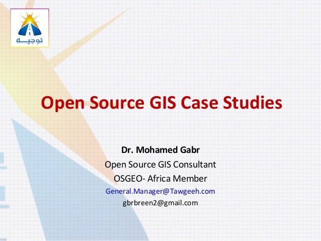 Free and Open Source GIS software successful case studies Worldwide