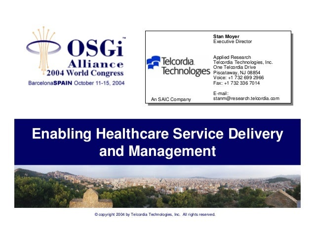 Health and social services