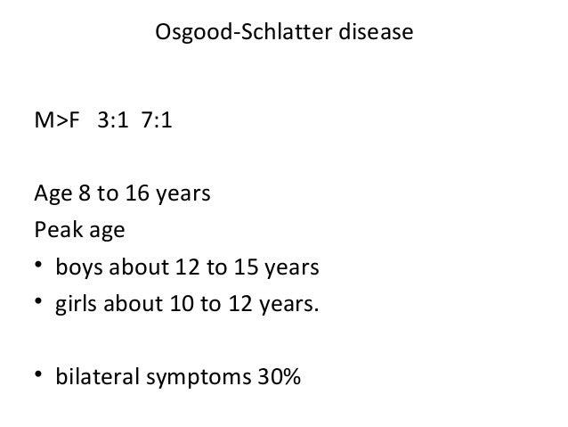 how to help osgood schlatter disease
