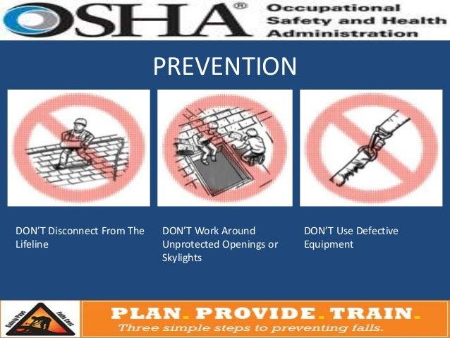 Osha 3 Step Fall Protection