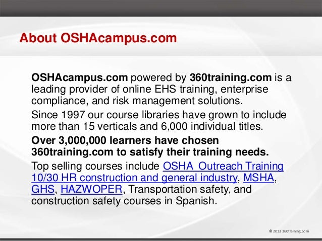 Osha And Ghs Hazcom Training By Marie Athey