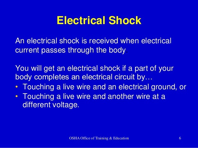 Construction Electrical Safety Training by South Carolina State Assoc…