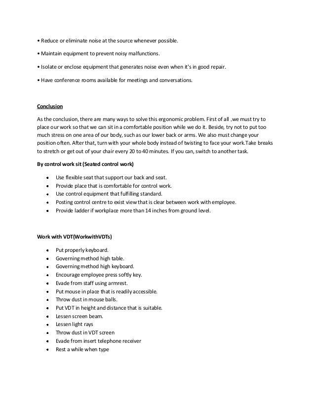 Case Study: Ergonomic Approaches that Work
