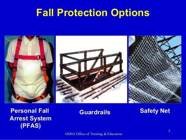 Fall Protection By Osha