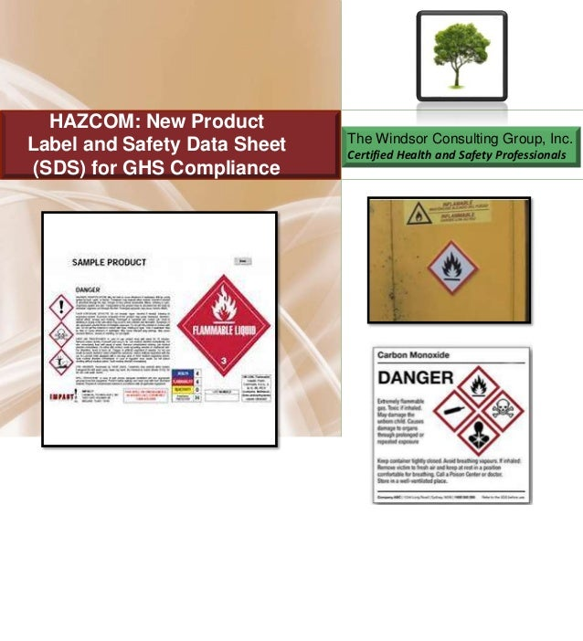 OSHA Hazard Communication and GHS Requirements for Product Labels and…