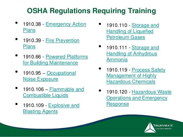 OSHA Compliance Update