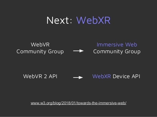WebXR: Introducing Mixed Reality and the Immersive Web