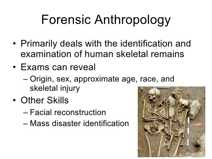 Overview History Of Forensic Science