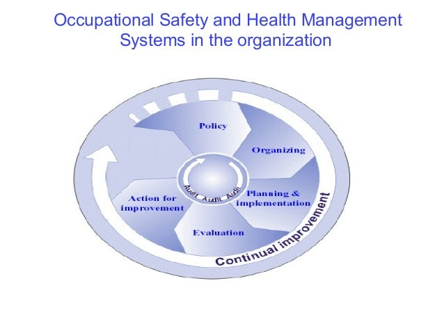 Safety and Health Management Systems (OSHMS) 2003