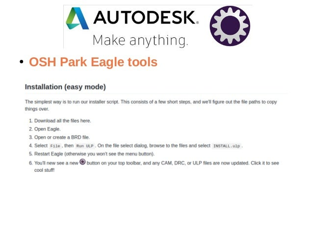 Autodesk EAGLE and OSH Park