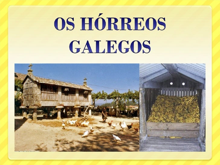 Os hórreos galegos