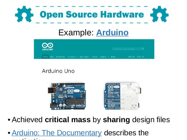 Intro to Open Source Hardware (OSHW)