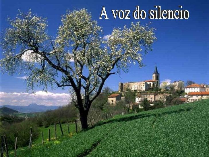 A voz do silencio