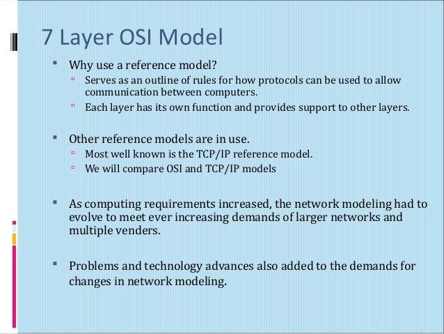 Osi Model Layer on S Osi Model Layers