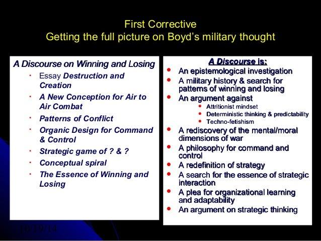 Osinga 2007 Boyd Conference Slide 3