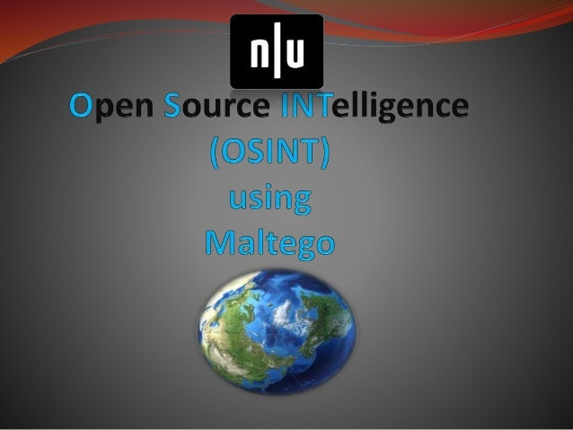 define:OSINT  A form of intelligence collection management that involves finding, selecting, and acquiring information fr...