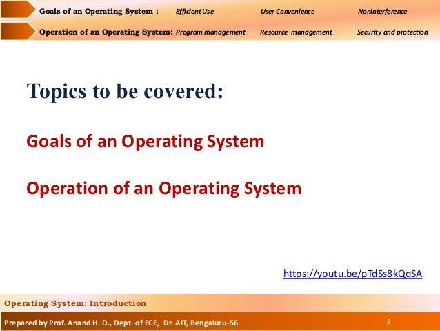 OS introduction Slide 2