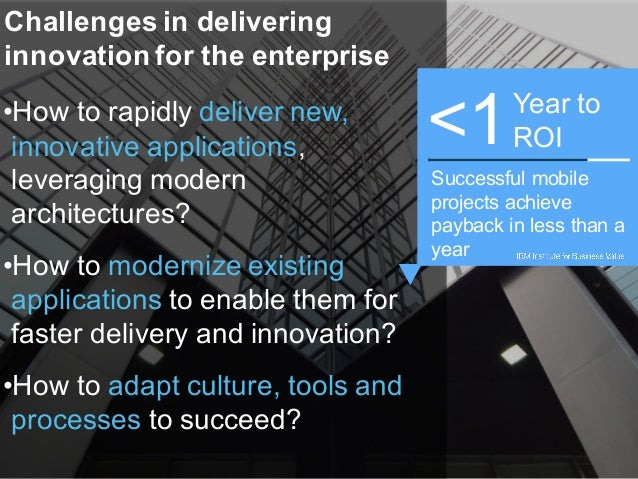 IT Roadmap Atlanta Deliver on your innovation goals with IBM Bluemix