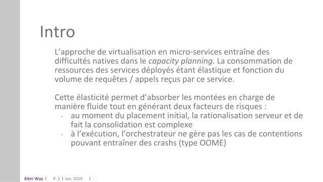 OSIS19_Cloud : Attribution automatique de ressources pour micro-services, Alter way Slide 2