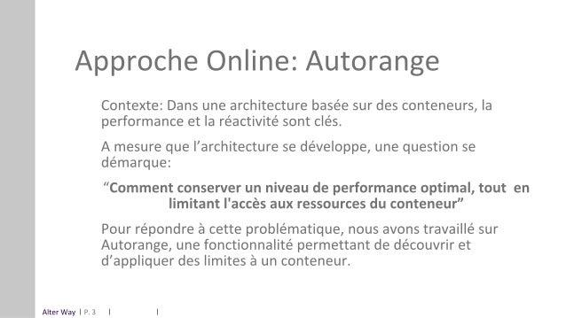 OSIS19_Cloud : Attribution automatique de ressources pour micro-services, Alter way Slide 3