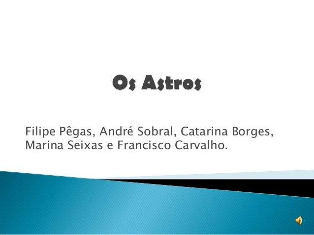 Filipe Pêgas, André Sobral, Catarina Borges,Marina Seixas e Francisco Carvalho.