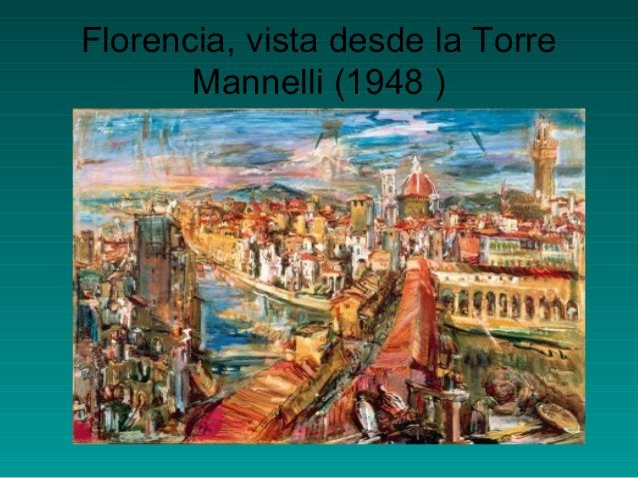 Florencia, vista desde la TorreMannelli (1948 )