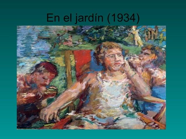 En el jardín (1934)