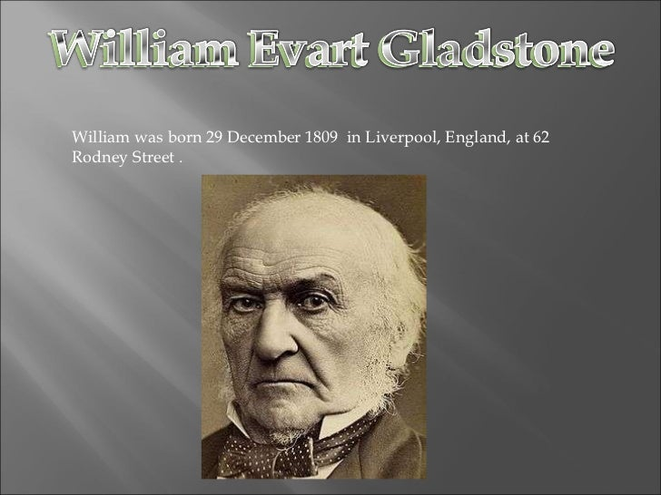 William was born 29 December 1809  in Liverpool, England, at 62 Rodney Street .