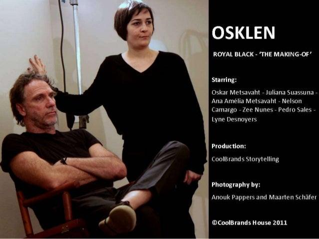 OSKLEN - Royal Black by Oskar Metsavaht